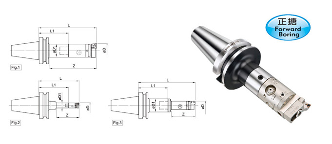 CBM Micro Adjustment Boring Head + LBK Shank