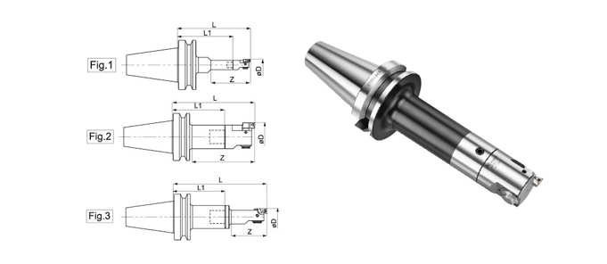 MBH FINISH BORING HEAD + LBK SHANK (MAS 403BT)
