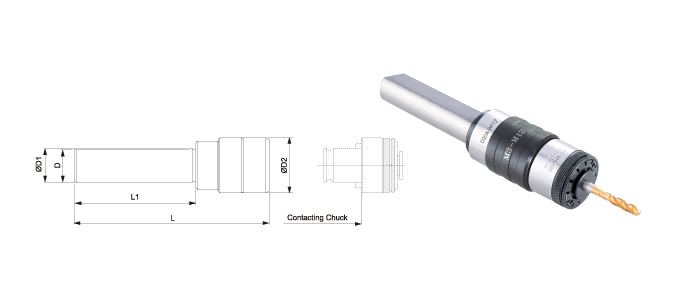 QUICK CHANGE TAPPING CHUCKS / STRAIGH SHANK - SIDE - LOCK & CNC LATEN
