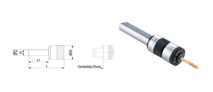 QUICK CHANGE TAPPING CHUCKS / WITH LENGTH CVOMPENSATION / STRAIGHT SHANK-SIDE-LOCK & CNC LATHE