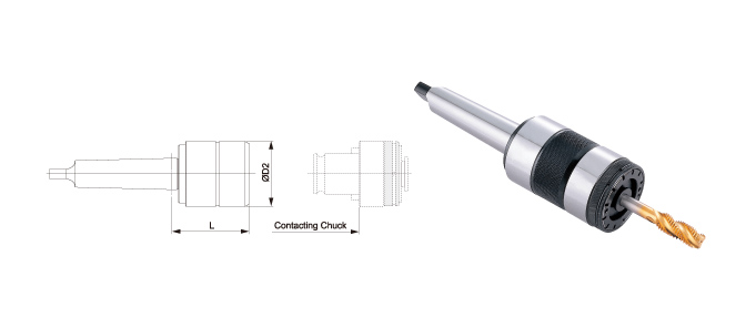 QUICK CHANGE TAPPING CHUCKS / MORSE TAPER SHANK